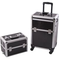 China Scratch Resistant Makeup Trolley Case Customized Color For Makeup Artists on sale