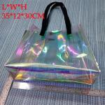 Holographic PVC Handheld Shopping Bag