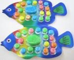 2.8g Fish shape compressed candy / multi friut flavor colorful sweet children's favorite