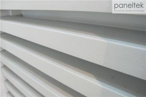 Quality Ceramic Baguettes Sun Shading Louvers 50 * 100mm With Hollow Structure for sale