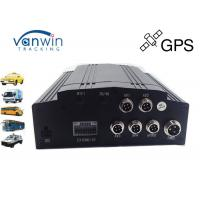 Anti knock 4 Channel GPS Mobile DVR 1TB Storage Basic for Bus and Taxi