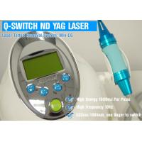 1064nm ND YAG Laser Machine Q Switched , Tattoo Laser Removal Equipment
