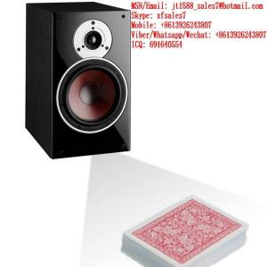 China XF Voice Amplifier Box Camera To Scan Edges Bar-Codes Marking Playing Cards on sale