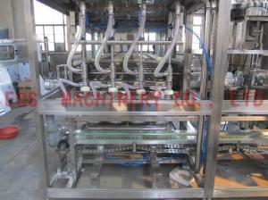 China 自動天然水4つのフィリング バルブが付いている5ガロンのバレルの充填機 on sale
