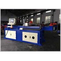 High Efficiency Hydraulic Pipe Bending Machine , Stainless Steel Pipe Bender