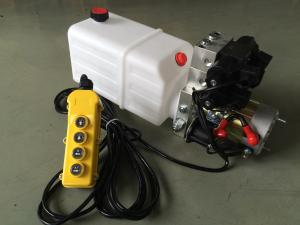 China Double Acting Hydraulic Cylinder Hyd Power Unit With 2 Station CETOP 03 Solenoid Valves on sale
