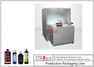 China Low Noise Bottle Packing Machine Line Plastic Bottle Unscrambler For Food / Medicine Bottle on sale