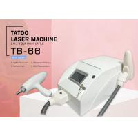 Portable Painless Q Switch Nd Yag Laser Tattoo Removal Machine for Pigmentation