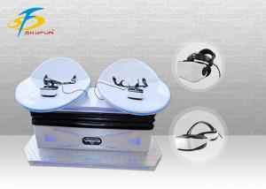 China Club / Airport Virtual Reality Slide Simulator Game Machine For Double Players on sale