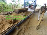 ¡popular!!! Sierras de madera industriales de hoja de sierra de la serrería circular doble del ángulo