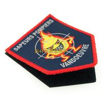 China Fashion Custom Woven Patches For Garment / Hats / Bags / Jeans Decorative on sale