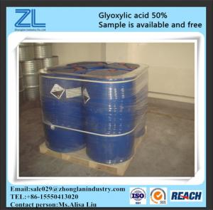 China glyoxylic acid as a substitute for formaldehyde on sale