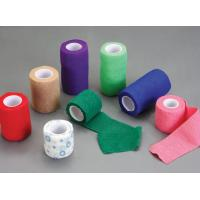 Non Woven Elastic Cohesive  Bandage Colorful With Different Wide And Length