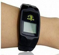 China OEM Remote Arm7 SMS GPRS Google Map SOS Personal GPS Position System Wrist Watch Tracker on sale