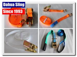 "Quality 4pc 1"" X 15ft Moving Tie Down Straps Mountable Ratchet Straps 25mm Width for sale"