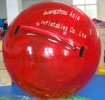 Red Colour Commercial Grade Inflatable Water Ball for Kids Inflatable Pools