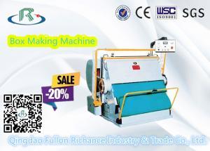 China Good Using Platen Corrugated Carton Box Creasing Die Cutting Machine on sale
