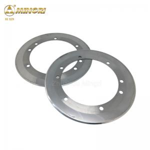 China Raw materials Tungsten Carbide Circular Blade for Cutting Tools on sale
