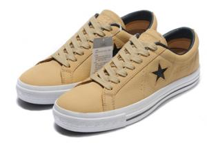 China Converse One Star Real Leather Face Velcro Women Casual Shoe on sale