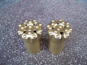China rock drill bits T45 threaded button bit on sale
