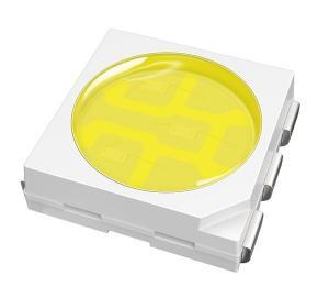 China Epileds 60mA 3volt - 3.6v 3 chips pure white 5050 SMD LED diodes for back light on sale