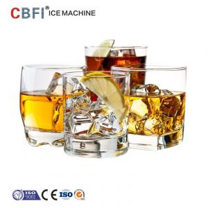 China Party Ice Cube Machine For Bar , Compact Commercial Ice Maker on sale