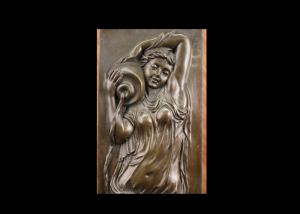 Quality Fine Rare Bronze Relief Wall Art , High Relief Sculpture Contemporary Style for sale
