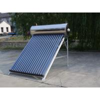 China Green Energy Automatic High Pressure Solar Geyser , Solar Water Heaters For Homes on sale