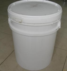 large 16Kg PE PP plastic barrels with lids handles for paint