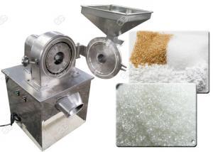 China Dry Food Sugar Grinder Pulverizer / Salt Sugar Powder Making Machine High Speed on sale