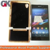 2014 new trend bamboo case for sony xperia z1