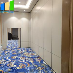 China Flexible Sliding Partition Walls Room Divider Mdf Gypsum Board Movable Partition Wall Hotel Garden on sale
