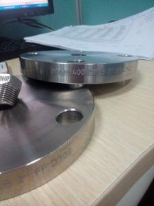 China Monel 400 Alloy 400 UNS N04400 2.4360 WN SO Blind flange forging disc ring on sale