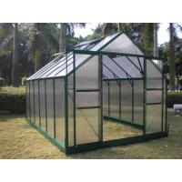 China Sturdy Aluminum 4mm UV Twin-wall Polycarbonate Sheets Greenhouse 8' X 12' on sale