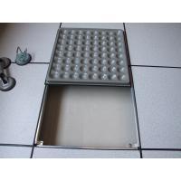China Black PVC environmental Anti-Static Raised Computer Floors 30mm thickness FS680 on sale
