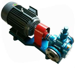 China High Efficiency Marine Deck Equipment Electric Gear Pump Cast Iron / Stainless Steel Material on sale