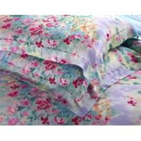 300TC luxurious tencel bedding set include douvt cover, fitted sheet and 2 pillow case