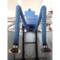 LB-BG Wall hanging welding fume extractor with one or two flexible extraction arms