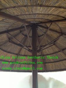 China Tropical Real Palm Leaf Thatched Roofing Cover are using on roofs / gazebos/KD fixed on sale