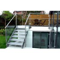 China Outdoor Terrace Stainless Steel Staircase on sale