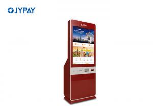 Quality High Safety 32 Inch Touch Screen Kiosk , Cost - Effective Bill Acceptor Kiosk for sale