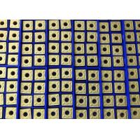 Good Toughness Tungsten Carbide Inserts Square Shape For Turning Process