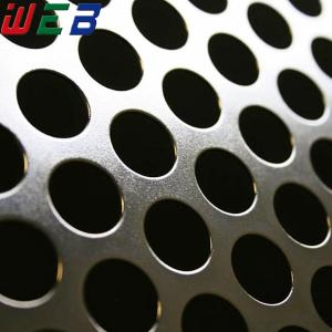China Perforated stainless steel sheet on sale