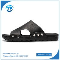 Soft Leather Upper PVC Outsole Sandals For Men