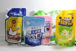 China Stand up Pouch For Liquid Product on sale