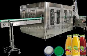 China Ce Juice Bottle Filling Machine , Rotary Bottle Drink Filler Packaging Machine on sale