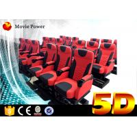 24 Seats Dynamic Theater Large 5D Movie Theater With Electric Motion Platform