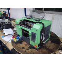 High Precision UV Flatbed Printer , Automatic Small Desktop Printer for Glass / Ceramic Tile