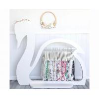 Swan Design Childrens Wooden Clothes Rack / Elegant Kids Clothes Rack Stand