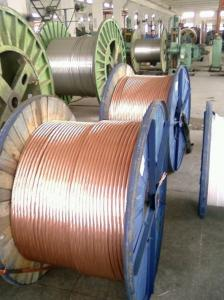 China 1.7mm Copper Clad Steel Wire Conductors for Grounding on sale